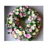 corona rosas y gerberas