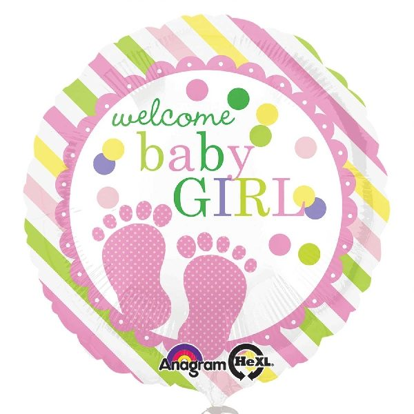 Globo para regalar en nacimiento niña