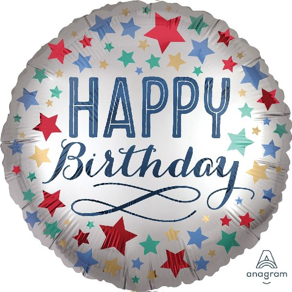 Globo de helio para cumpleaños