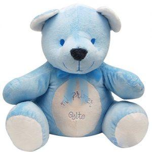 Oso «Mi primer osito» azul