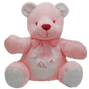 Oso «Mi primer osito» rosa