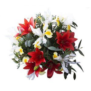 Elegante ramo de flores
