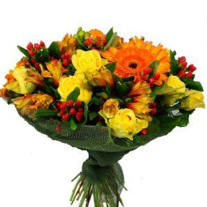 Bouquet alegre y elegante