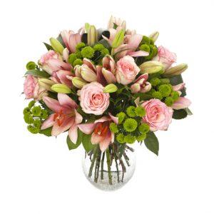 Rosas, liliums y margaritas