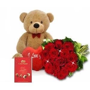 12 rosas con pack