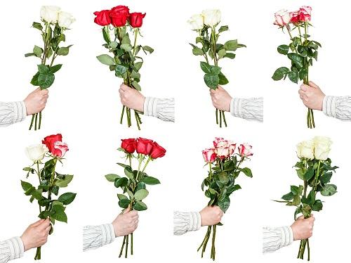 tres rosas de regalo
